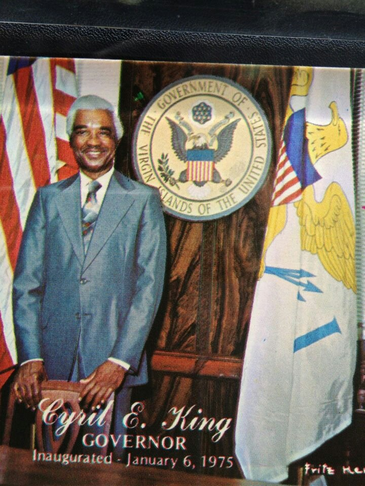 The late Cyril E. King, former Governor, for whom our ...