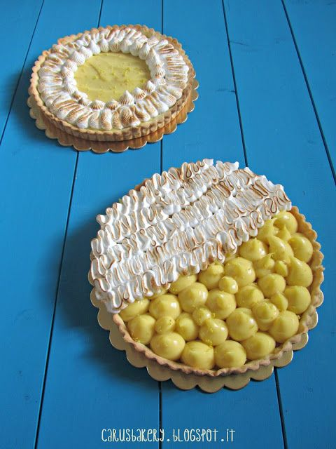 Caru's Bakery: Lemon Meringue Pie