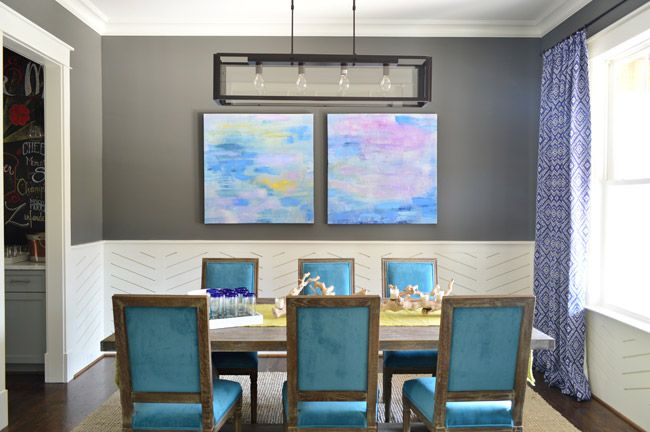 A Full Tour Of Our Showhouse On Video Dining Room