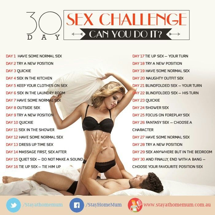 Sexual Challenges For Your Boyfriend
