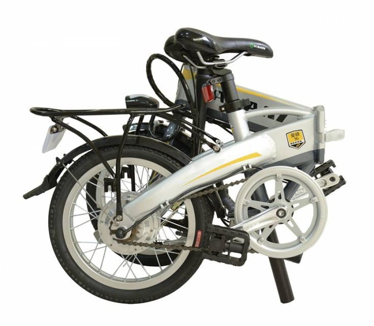 16 Inch Silver Folding Foldable Electric Bike With 250W Motor & Embedded Lithium Battery http://www.jtautoparts.com/16-inch-silver-folding-p.html