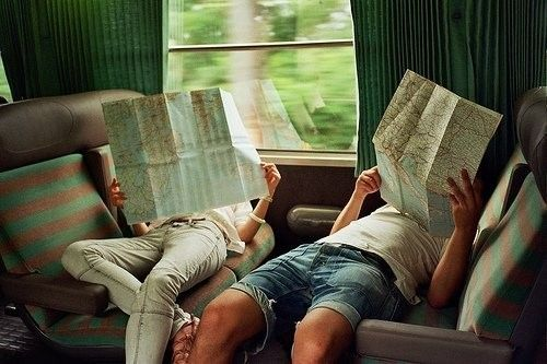 i've always wanted to travel around aimlessly with a friend. oh the adventures!