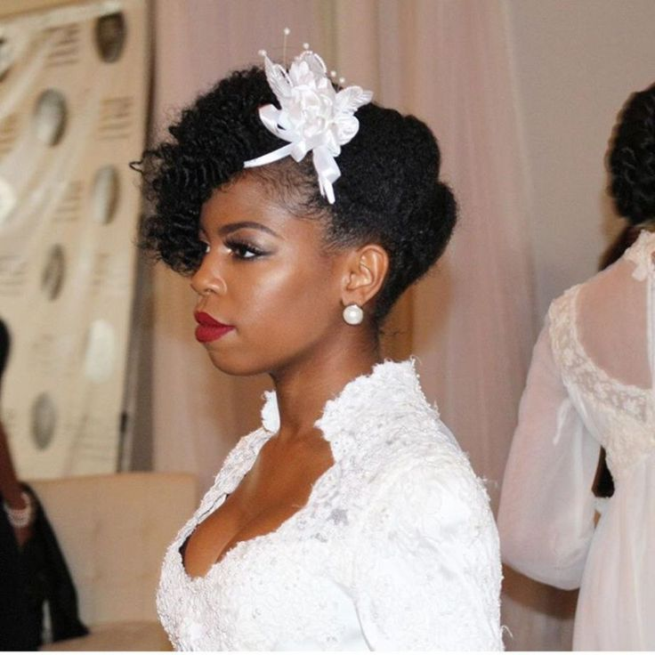 50 Inspiring Wedding Hairstyle Ideas For Natural Black