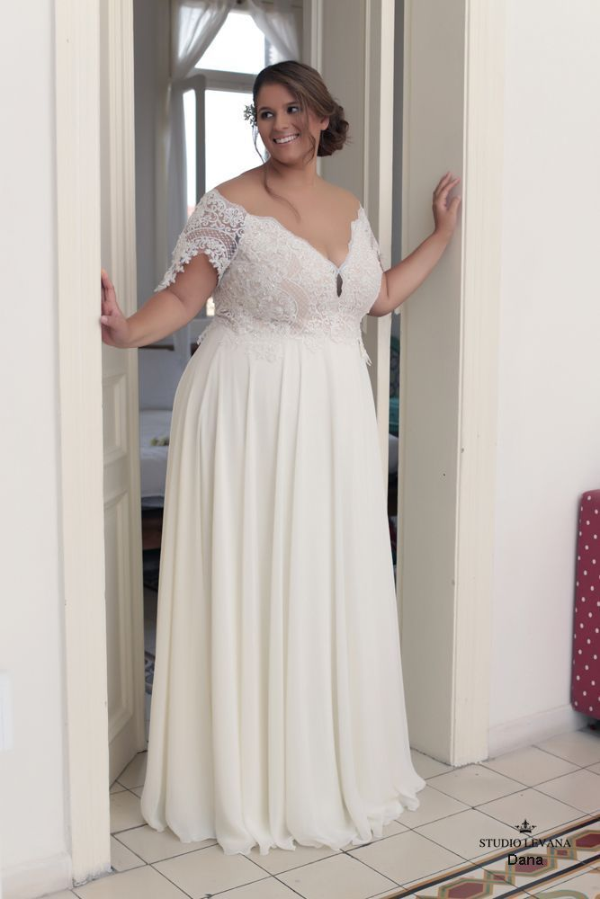 Plus size wedding gowns 2016 dana (1) #PlusSizeWeddingThings
