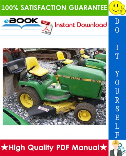 this is the complete technical manual for the john deere 240, 245, 260,