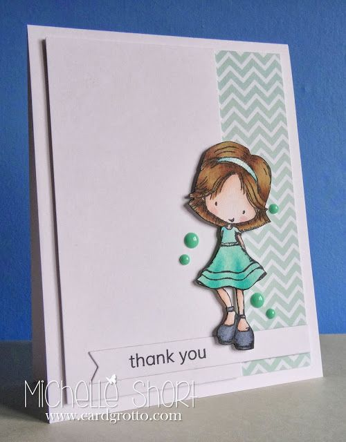 The Card Grotto: Thank You Tiddly Inks - DTDF