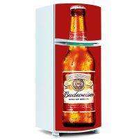 Adesivo de Geladeira Inteira - Cerveja Budweiser 6
