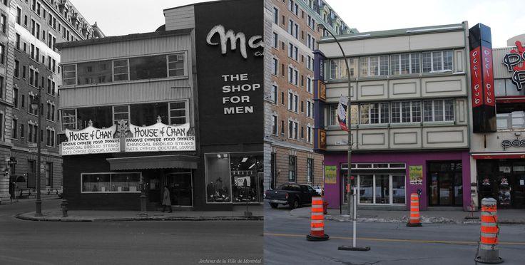 https://flic.kr/p/qchsTM | 1965-2014 | Édifice sis à l'angle des rues Peel et Cypress.  Source : Archives de la Ville de Montréal, VM94-A0188-003  © Tous droits réservés : Guillaume St-Jean  Maintenant via Facebook : Montréal Avant-Après. www.facebook.com/pages/Montr%C3%A9al-Avant-Apr%C3%A8s/607...