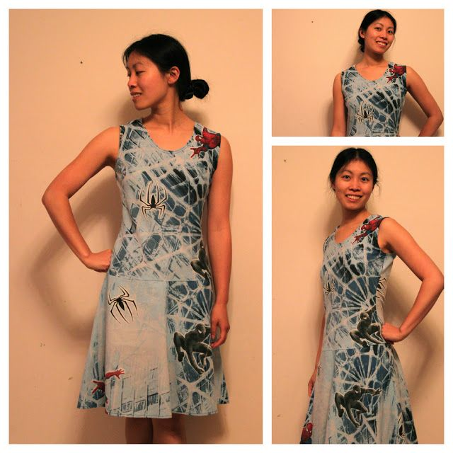 Cation Designs: Spiderman Dress, the Reprise