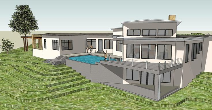 Modern icf home modern design modern icf home pinterest for Icf house plans modern