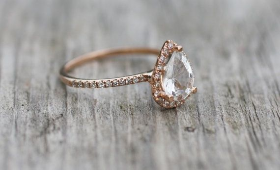 Normally like it simple when it comes to diamonds but this is gorgeous!