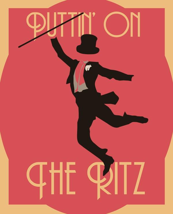 Puttin' On The Ritz! by Robbie Thiessen, via Behance    #theritz #fredastaire
