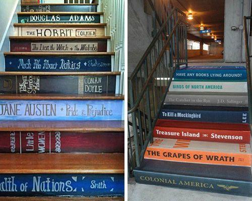 Curisidades inspiraci n lectora escaleras lectoras - Libros de decoracion de interiores ...