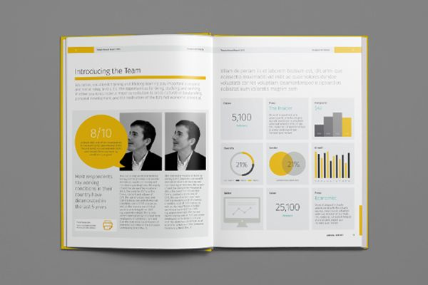 NLMK annual report Layouts Pinterest – Annual Reports Templates