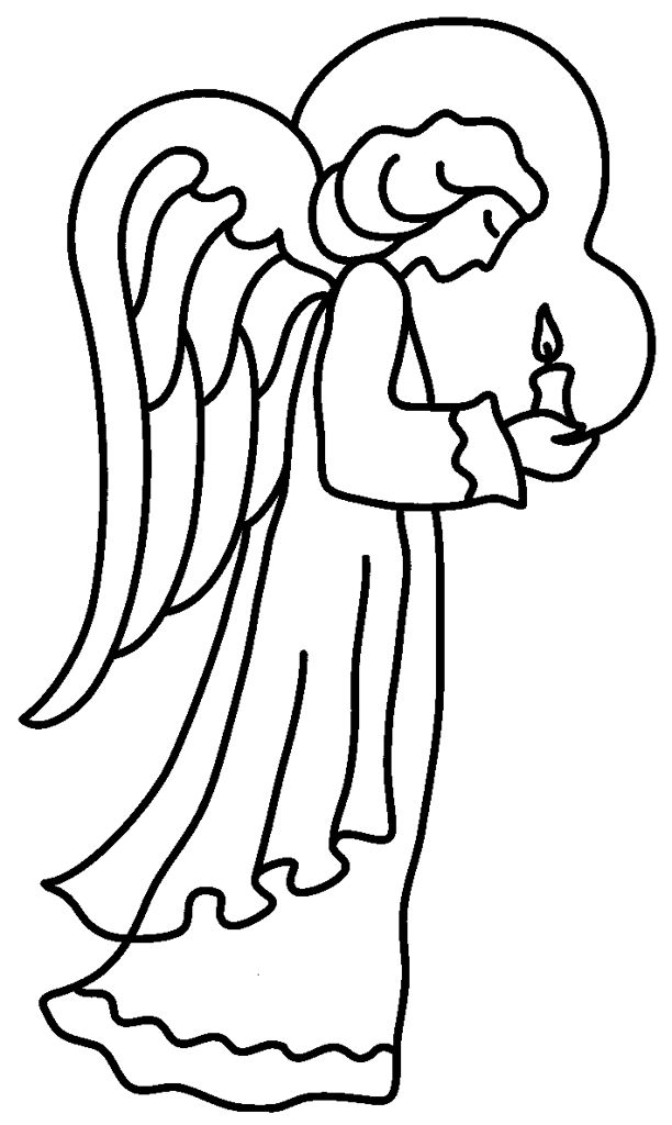 angel drawings for christmas ornaments Free Printable