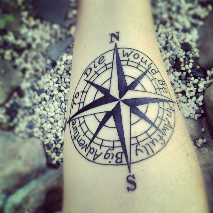 to die would be an awfully big adventure tattoo
