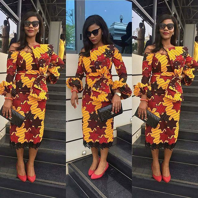 Stunning & Cute Ankara Styles To Boost Your Mood For The Weekend - DeZango Fashion Zone