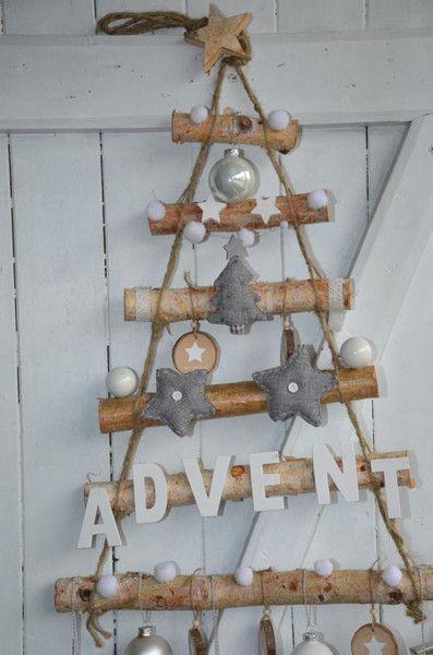 Tannenbaum Weihnachtsbaum Advent hängend von Majalino auf DaWanda.com