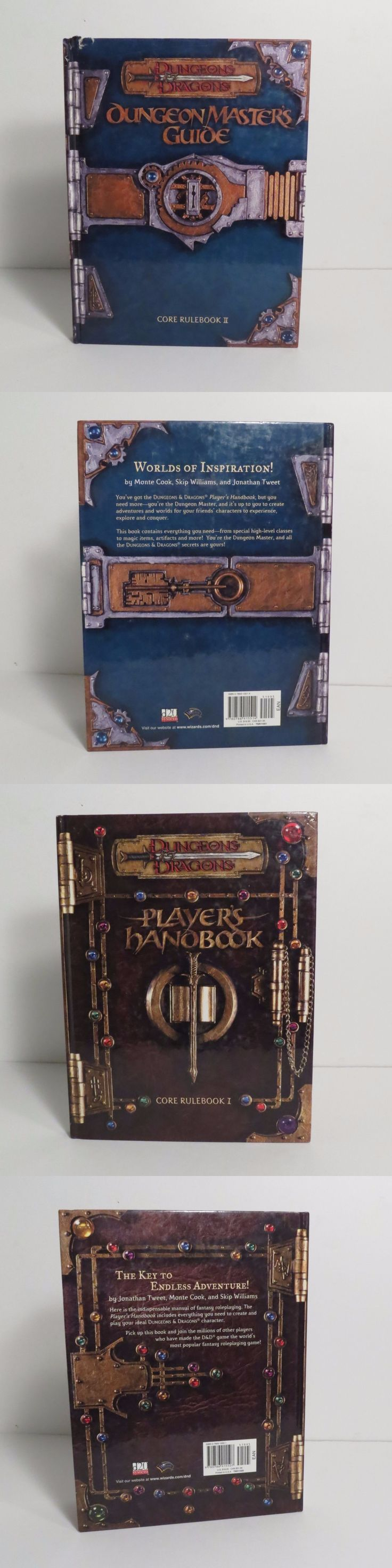 Full Sets 44114: Dungeons And Dragons 3Rd Edition Player S Handbook, Dm S Guide Great Shape -> BUY IT NOW ONLY: $40 on eBay!