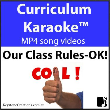 This curriculum-aligned song (Grades K-3) helps students learn positive classroom behaviours, rules & responsibilities. It highlights consideration for the safety and happiness of others. • Not musical ~ NO worries!  • Just download the MP4 song video and play on your classroom whiteboard or computer!  https://www.teacherspayteachers.com/Product/OUR-CLASS-RULES-OK-Curriculum-Karaoke-MP4-Song-lyrics-video-3224972