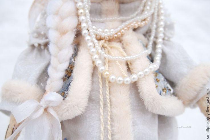 Buy White Fox Belle - white, sky blue, the snow maiden, granddaughter, gift