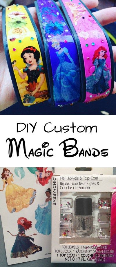How to decorate custom Magic Bands (Easy & cheap DIY personalized bands)