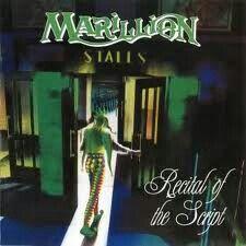 "Cover art Marillion video/dvd ""Recital Of The Script"""