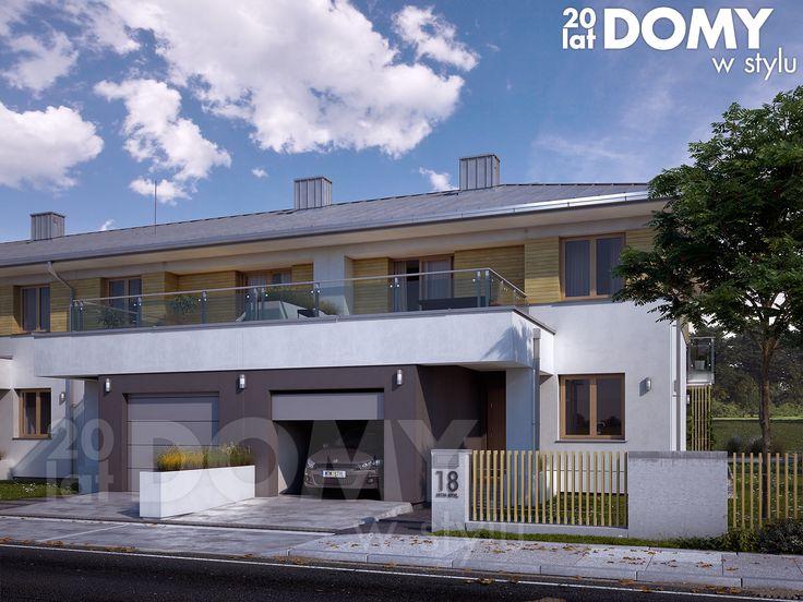 Projekt Sekwoja to nowy projekt budynku w zabudowie szeregowej. Pełna prezentacja projektu dostępna jest na stronie: https://www.domywstylu.pl/projekt-domu-sekwoja.php #projekty #projekt #dom #domy #projektygotowe #zabudowa szeregowa #szeregowki #domywstylu #mtmstyl #home #houses #architektura #architecture #design #housedesign #newdesign #moderndesign #sekwoja