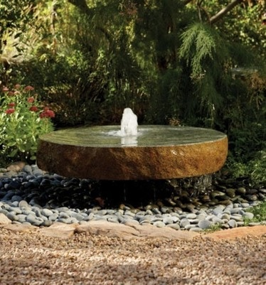Another Backyard Fountain Option Although This Has An In Ground Basin. If  Going To Trouble