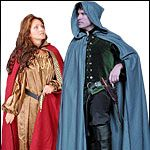 Medieval and Renaissance Capes, Cloaks, Robes, Monks Robes