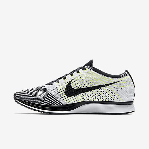 I found this Nike Flyknit Racer Unisex Running Shoe (Men's Sizing) at Nike  online.