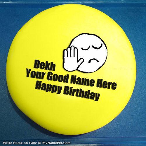 Happy Birthday Amir Bhai Cake