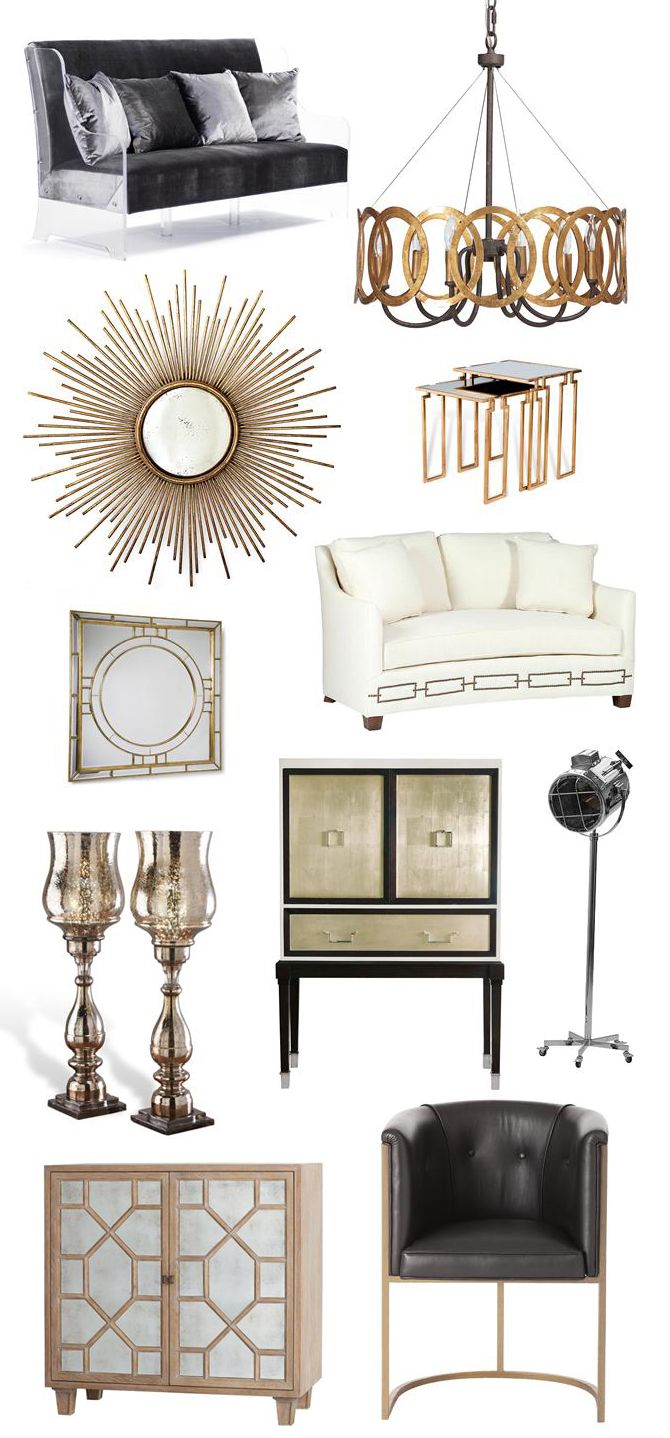 Our Selection Of Hollywood Regency Furniture Perfect For Adding Modern Glamour To Any Room