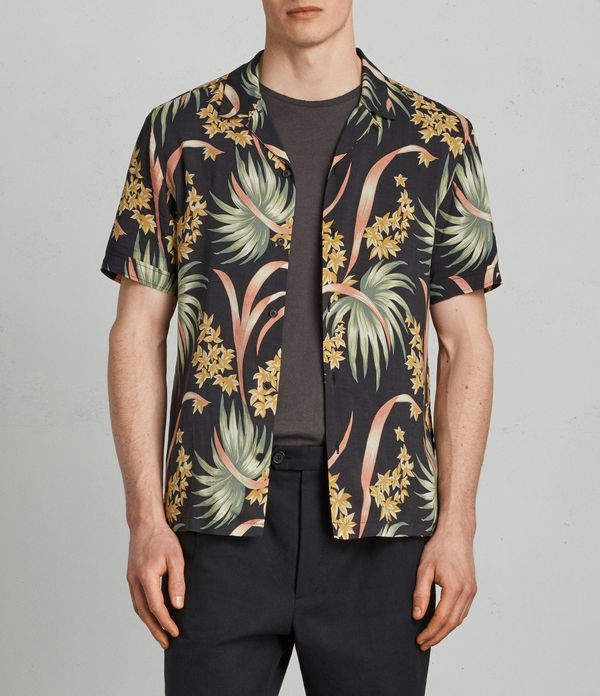 saints hawaiian shirt