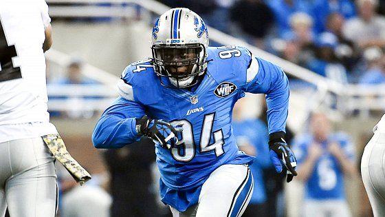 Off the market: Lions use franchise tag on defense end Ezekiel Ansah
