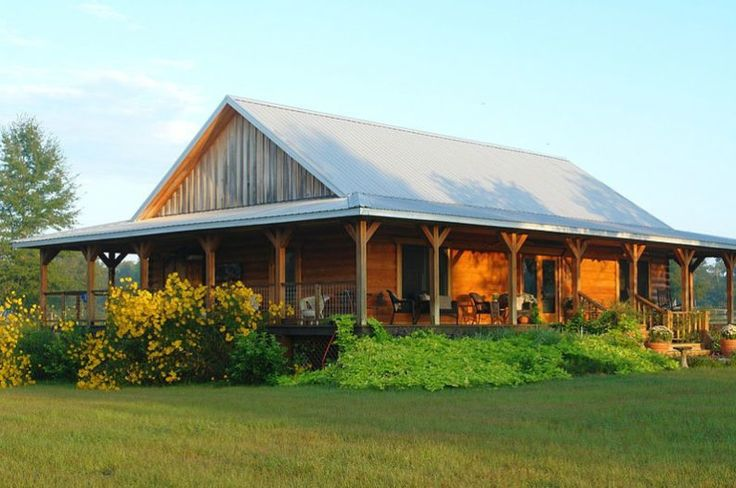 Best 25 pole barns ideas on pinterest pole barn shop for Wide open country cabins
