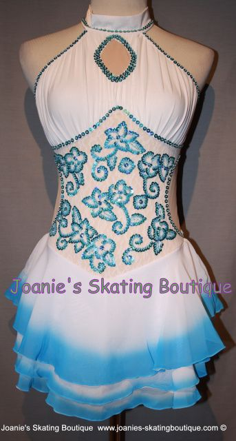 Joanie's Figure Skating Boutique of Newfoundland, Canada-Figure Skating Dresses, Custom Skating Dress, Skating Skirts, Skating Apparel. Dance. Baton. Leotard http://www.joanies-skatingboutique.com