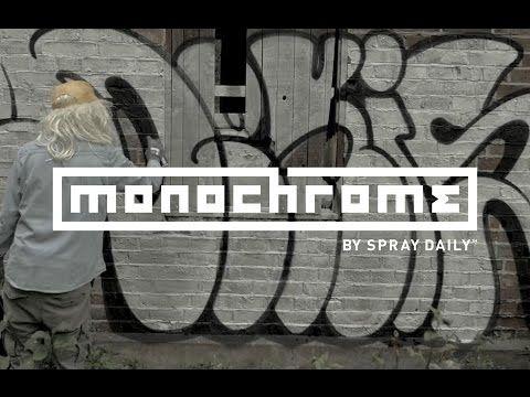 MONOCHROME 007 - DEKIS   Spraydaily.com - YouTube