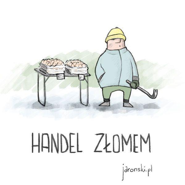 handel złomem - Paweł Jaroński