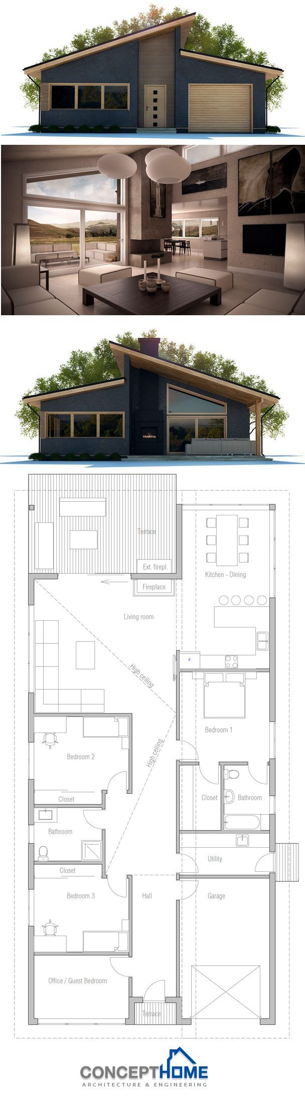 100 best Small home plans images by Home Design on Pinterest ...