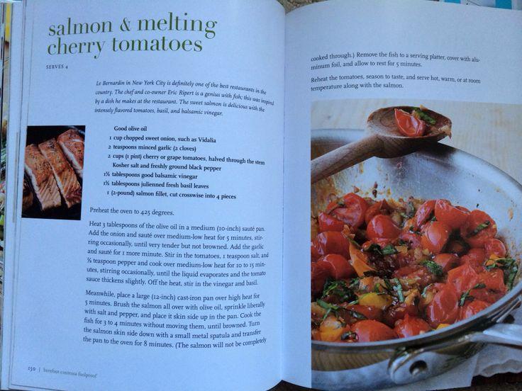 Salmon And Melting Cherry Tomatoes Barefoot Contessa