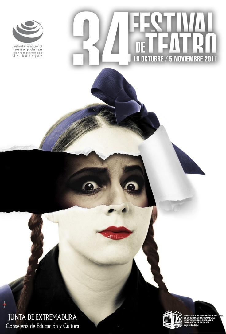 Poster 34 Festival de Teatro de Badajoz