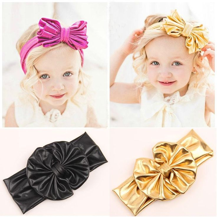 Check out the Cute elegant hair accessories provided by ever_yours, various handmade hair accessories for kids and big hair accessories in different colors and shapes, use  baby girls head wraps metallic messy bow headband jersey knot headwraps big bow baby headbands gold knot headband to make your children more beautiful!