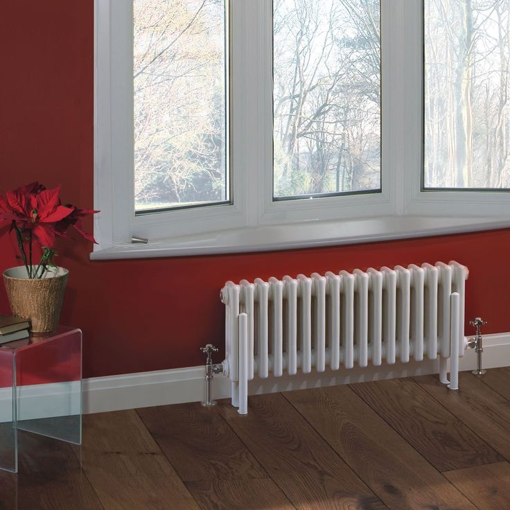 """Traditional 17 x 3 Column Radiator Cast Iron Style 11.8"""" x 30.1"""" - Closed Loop Systems Only"""
