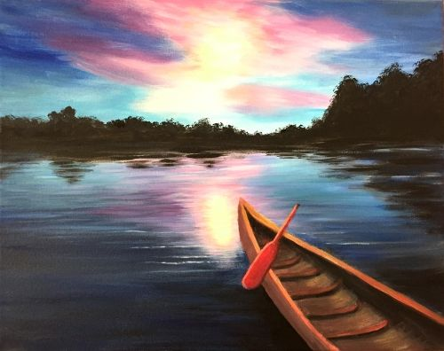 Can You Canoe? at Twigs Bistro and Martini Bar-Wandermere - Paint Nite Events