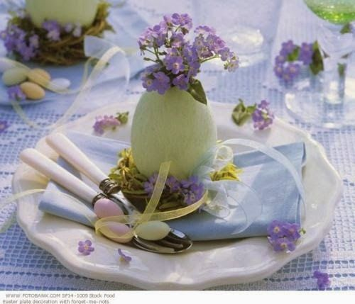 Spring table decoration. Easter Table SettingsEaster Table DecorationsEaster ... & 72 best spring table decoration images on Pinterest | Table ...