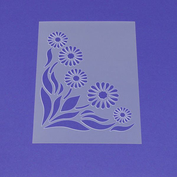 Ideal STENCIL for Walls Topiary TREE Over ft tall Wall Stencil