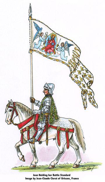 A Study of Jeanne d'Arc's Standard