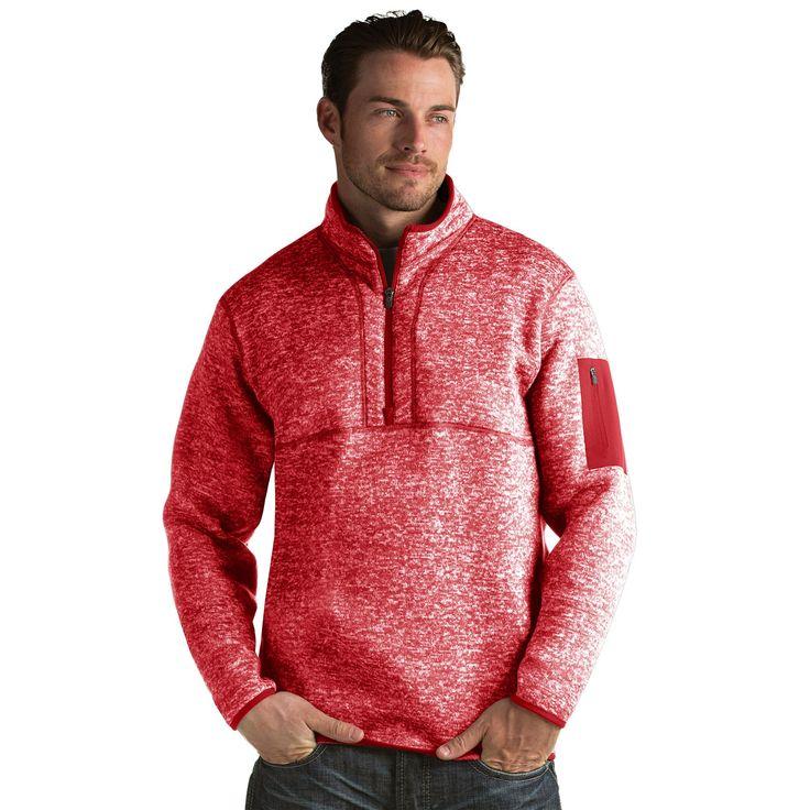Men's Antigua Fortune Classic-Fit Half-Zip Pullover ...
