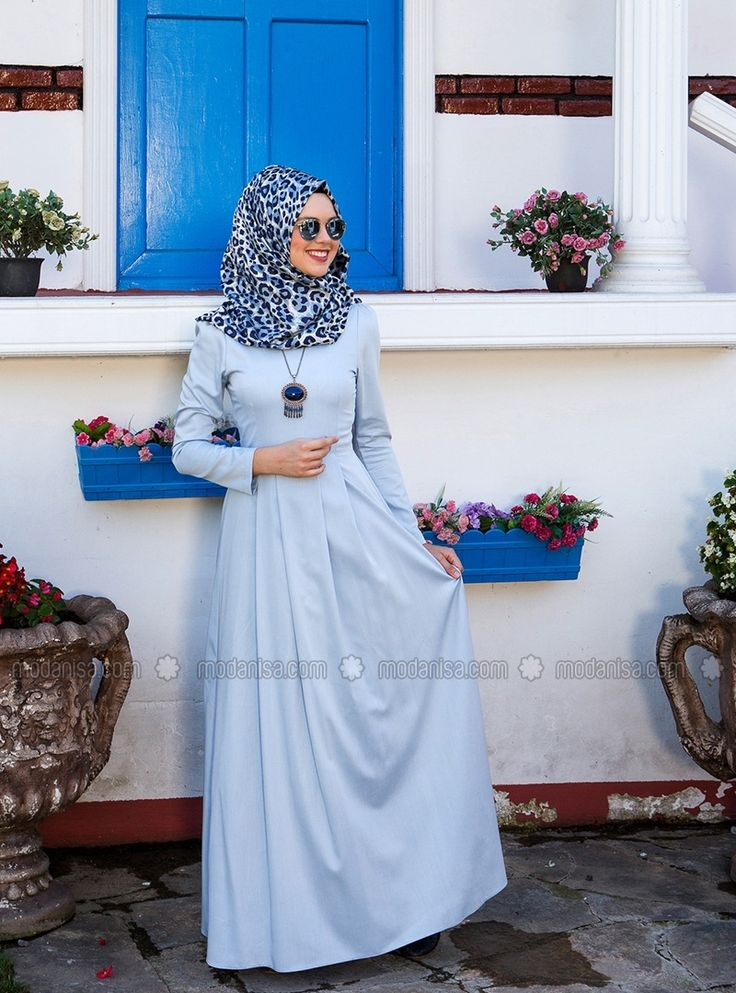Sasha Elbise - Mavi - Kübra Biriktir